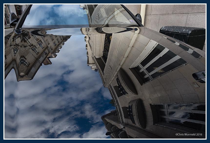 France; Nantes; reflection sky1