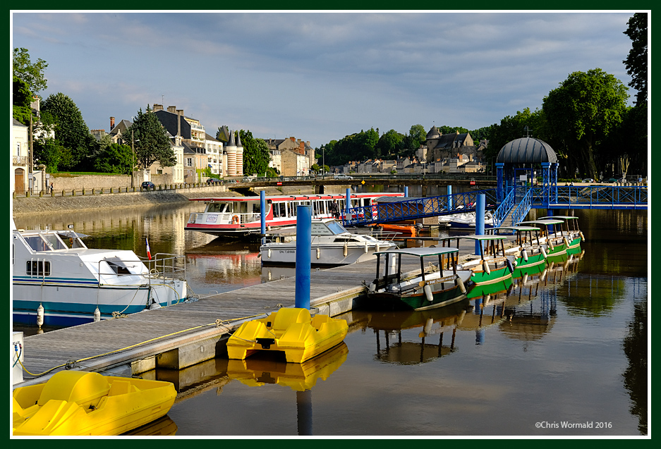 River Mayenne, Laval, Normandy