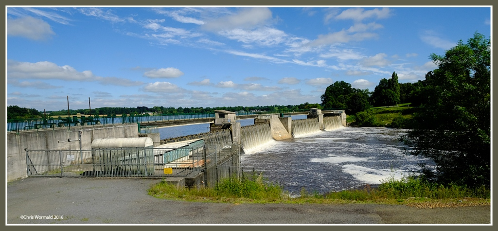 Hydro-Electric generation, River Mayenne, Normandy
